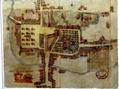 Centrum van Lichtervelde ca. 1780