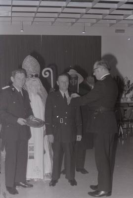 Brandweer viert St.-Barbara, Moorslede december 1974