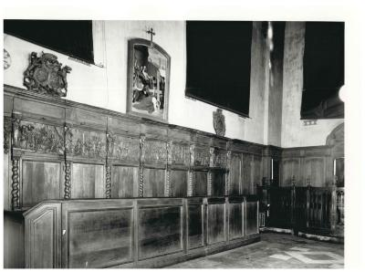 St. Amandskerk, Ingelmunster, Disbank, 1677