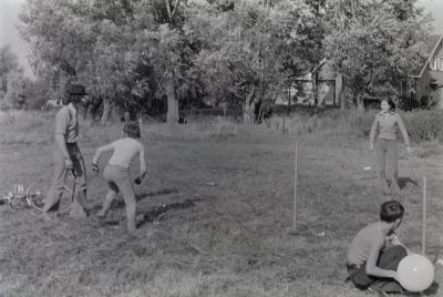 Missiefeest Slypskapelle, augustus 1974