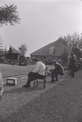 Vinkenzetting in Rust- en Verzorgingstehuis, juli 1974