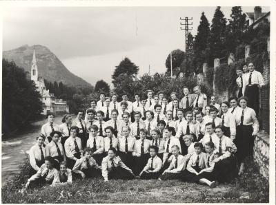 Groepsfoto VKSJ, 1954