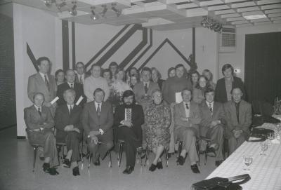 Groepsfoto Rode Kruis, Moorslede december 1973