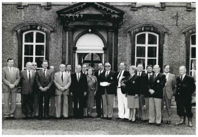 Viering 150 jaar Koninklijke Philharmonie, Ingelmunster, 1984