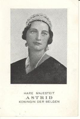 Bidprentje koningin Astrid