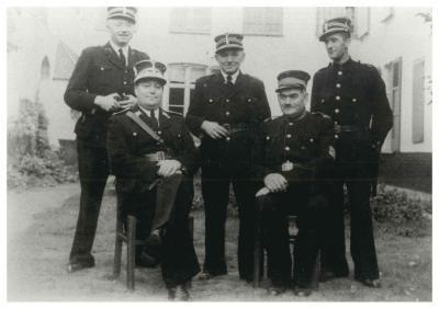Politiekorps, Ingelmunster, ca 1950