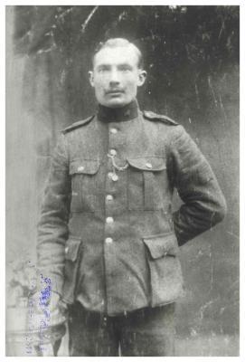 Soldaat Jules Mestdagh, 1914-1918