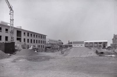 Bouw Rust- en Verzorgingstehuis, Staden augustus 1973