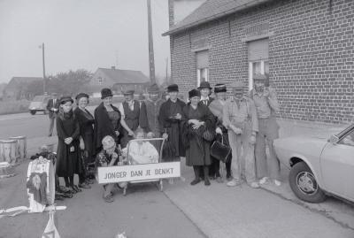 Folklorestoet Iepersestraat, Moorslede oktober 1973