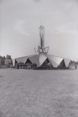 Kerk Sleihage, Hooglede augustus 1973
