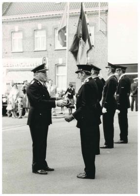 Brandweer, Ingelmunster, 1977