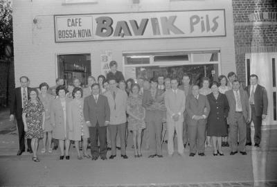 Huldiging biljartkampioen Bossa Nova, Moorslede met 1973