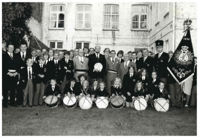 Viering 140 jaar bestaan van de  'Koninklijke Philharmonie', Ingelmunster, 1974