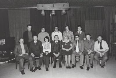 Afscheid Paula Corneillie 'van de post', Moorslede februari 1973