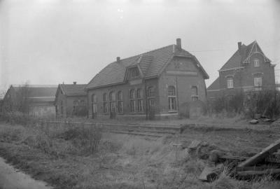 Station Moorslede, december 1972
