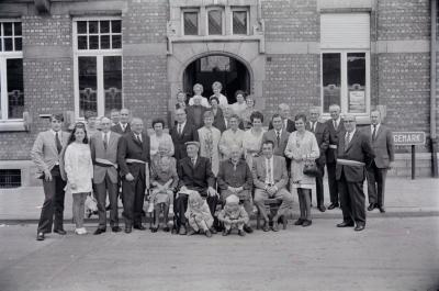Diamanten bruiloft Camiel Sabbe, Staden september 1971