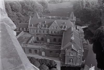 Dadizele gezien vanaf de kerktoren, september 1971