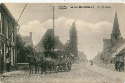 Dorpsplaats Westrozebeke