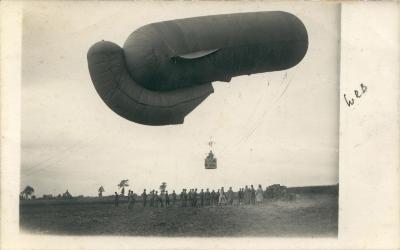 Luchtballon in Westrozebeke