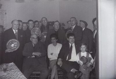 Duivenkampioen Duran bij De Krasselaars, Moorslede 1970