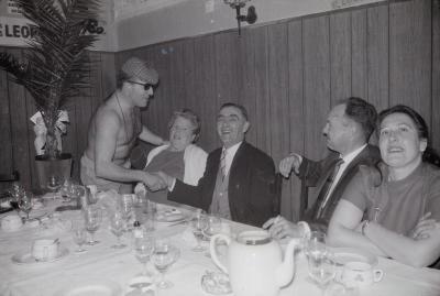 A. Vanryckeghem neemt afscheid van Rijkswacht, 1970