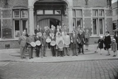 Belgisch kampioenschap postuurkanaries , Moorslede 7-11 november 1970