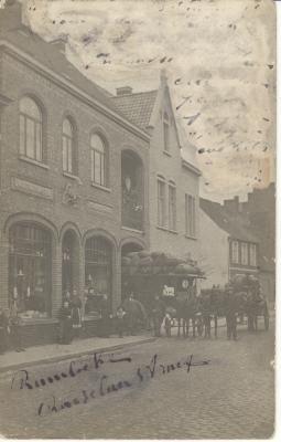 Huis matrasmakerij, 1910