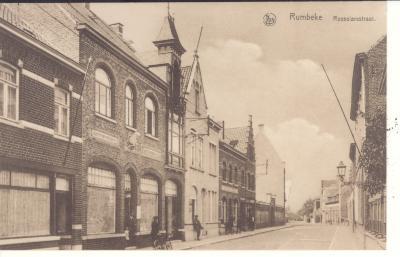 Huis matrasmakerij, rond 1920