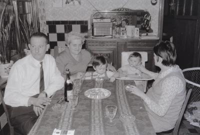 Derde verjaardag Ann (Vanryckeghem?), Moorslede