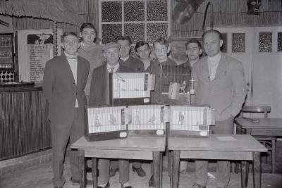 Winnaars prijskamp 'Kleur en zang', Moorslede 1969