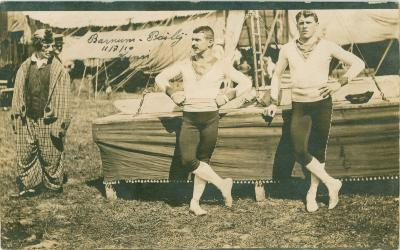 Bento Brothers, Circus Barnum and Bailey, 1910