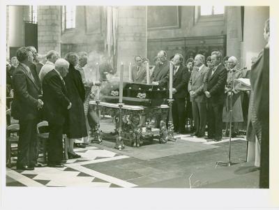 Begrafenis A.Blomme