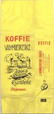 Verpakking 500 g koffie Déjeuner Vanmoerkerke Rumbeke