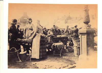 Dinsdagmarkt, Roeselare, 1888