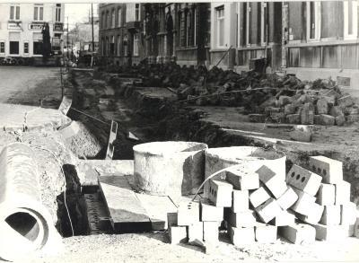 Wegen-en rioleringswerken aan het Polenplein, Roeselare