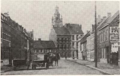 Zicht St Michielstoren, Roeselare