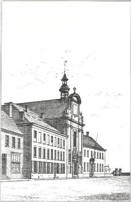 Afbeeldingen van de Kerk der Paters Augustijnen, Roeselare