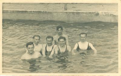 Zwempartij in Braunschweig, 1943