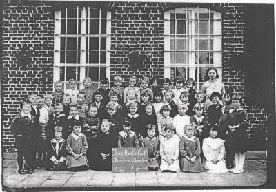 Schoolfoto Kapelhoekschool, 1936-1937(3)