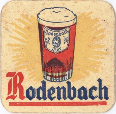 Bierviltjes Rodenbach, Roeselare