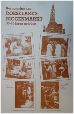 Herinnering aan biggenmarkt, Roeselare