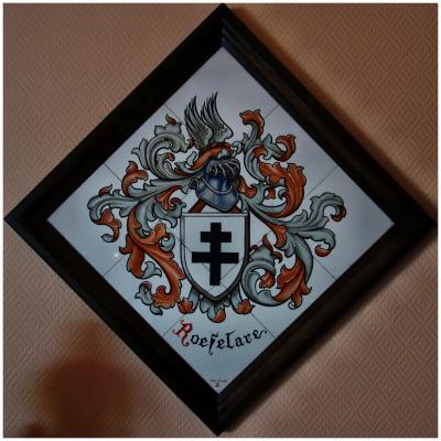 Keramiek wapenschild van Roeselare