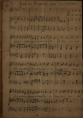 Lied der pompiers, 1896