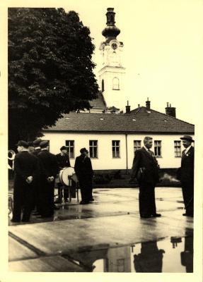 Bezoek/Uitstap, Wenen, 1958
