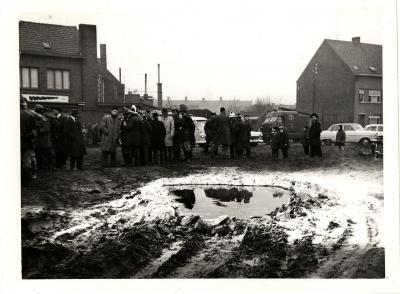 Demonstratie/oefening, Roeselare, 1964
