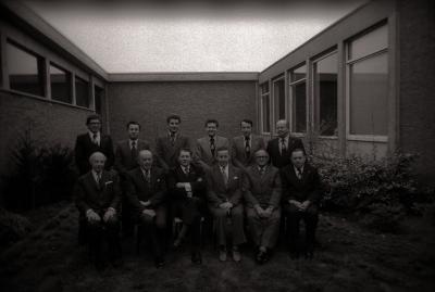 Bakkersbond Gewest Roeselare: groepsfoto, Roeselare april 1978