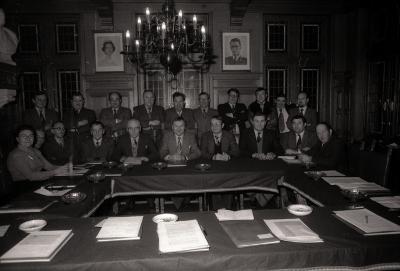 Gemeenteraadsleden, Moorslede februari 1978