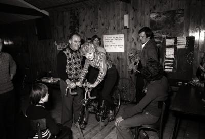 Café 'Den Hert': krachtproef op rollen, Dadizele februari 1978