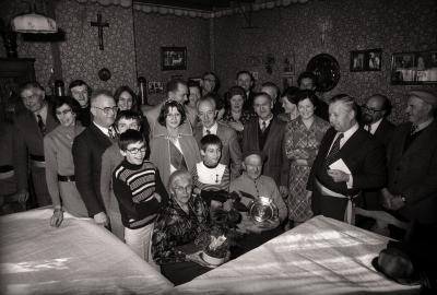 Briljanten bruiloft, Passendale november 1977