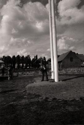 Opening staande wip, Moorslede september 1977